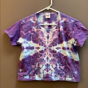 Psychedelic Crop Top